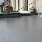 new grey fibreglass roof